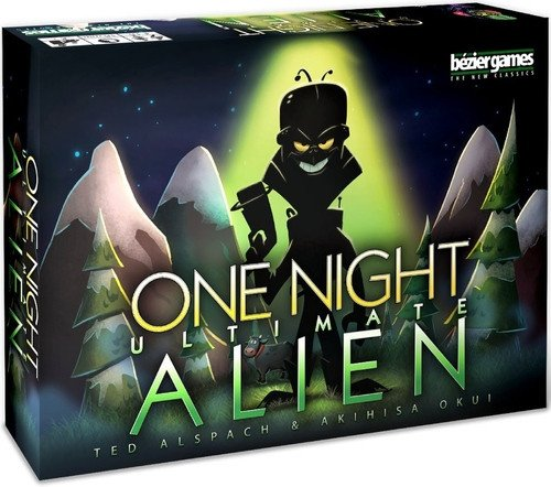 Bezier Games One Night Ultimate Alien Game by Bezier Games