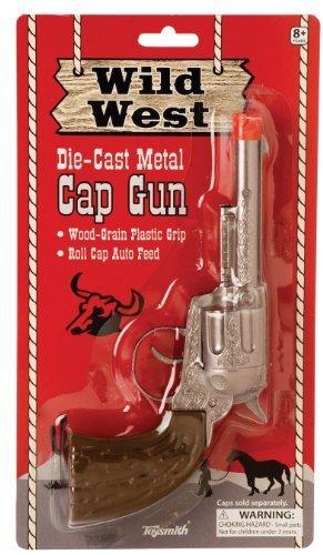 Toysmith Wild West Metal Cap Gun (2-Pack)