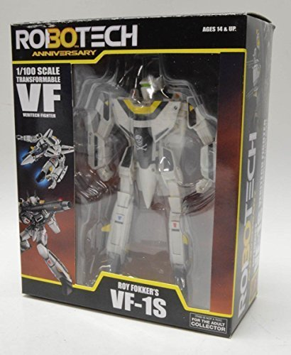 Robotech 30th Anniversary 1/100 Scale Transformables Action Figure Roy Fokker's VF-1S by Robotech