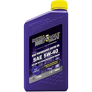 Royal Purple 1540 5W40 synthetic Oil, 1 quart