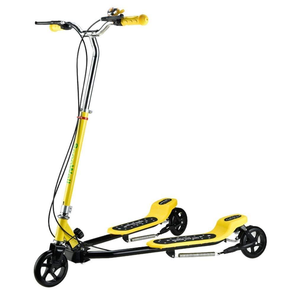 人気満点 スクーターを蹴る子供たち カエルのスクーター、スイングカー、ヨーヨー 黄)、シザー車 : B07R6DS74P、スクーター (色 : 黄) B07R6DS74P 黄, 桐生市:3c02f290 --- 4x4.lt