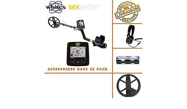 Whites MX Sport - Detector de metales: Amazon.es: Bricolaje y herramientas