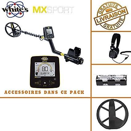 Whites MX Sport - Detector de metales