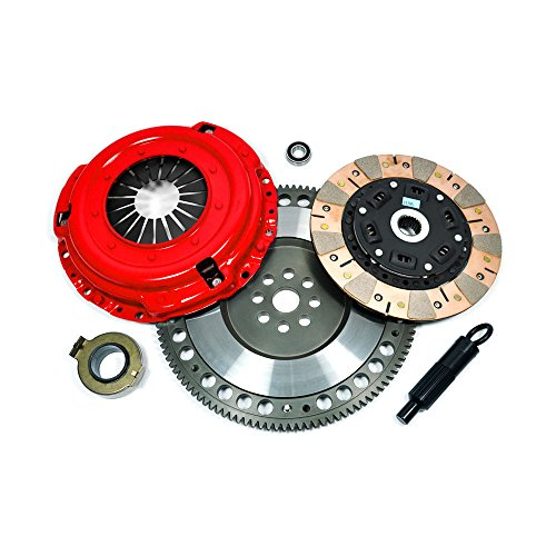 (EFT MULTI-FRICTION CLUTCH KIT+CHROMOLY FLYWHEEL for RSX TYPE-S 06-09 CIVIC Si)