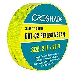 DOT-C2 Yellow Reflective Tape 2''   20',...