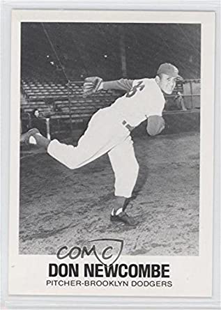 Amazoncom Don Newcombe Baseball Card 1977 84 Tcma Renata