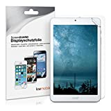 kwmobile 2x Screen Protector for Acer Iconia One 8 (B1-850) - Clear Anti-Scratch Display Protective Film for Tablet Screen - Set of 2