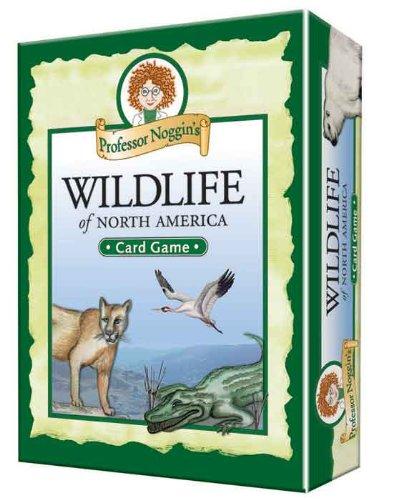 Outset Media Profeessor Noggin's Card Games North American Wildlife ()