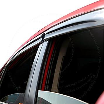 Side Window Visor Wind Deflector Rain Guard for Car 88 90 91 92 TOYOTA COROLLA