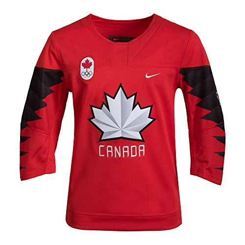 Nike Canada Olympic Away Jersey Large (Team Canada Jersey)