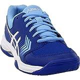 ASICS Gel-Dedicate 5 Women's Tennis Shoe, Monaco Blue/White, 5.5 M US