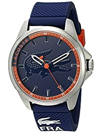 Lacoste Men's 2010842 Capbreton Analog Display Japanese Quartz Blue Watch