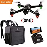#10: Holiday Special! Contixo F18 Advanced GPS Assisted RC Quadcopter 1080P HD Live FPV Wifi Video Camera Drone Smart RTH Hovering Brushless Motors (Carrying Back Pack- $50 Value) Best Gift For Christmas