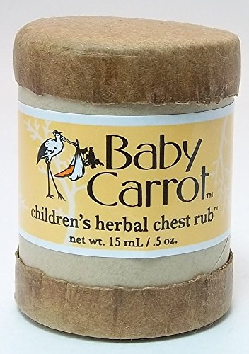 Herbal Chest Rub Wild Carrot Herbals 0.5 oz Cream
