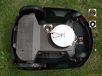 Kit de reparación para Husqvarna Automower Motor de ruedas y rodamientos: Amazon.es: Jardín
