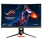 ASUS ROG Swift PG27VQ 27' 1440p 1ms 165Hz DP HDMI G-SYNC Aura Sync Curved Gaming Monitor with Eye Care