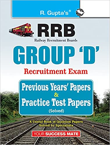 Buy Indian Railways: Group 'D' Previous Years' Papers & Practice