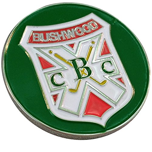 Marker & Hat Clip - Bushwood CC Logo (Caddyshack Golf Ball)