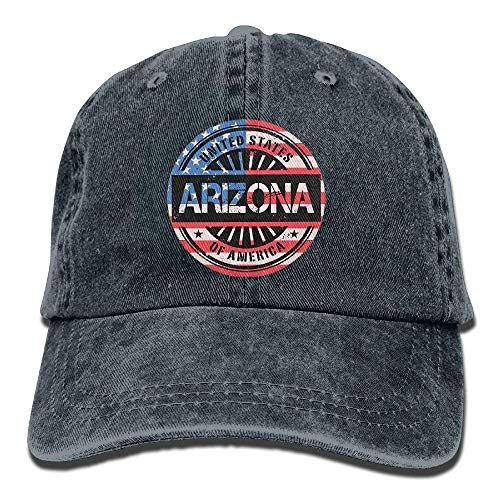 vintage usa arizona flag unisex baseball caps