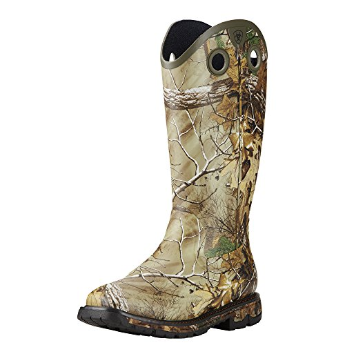 Pictures of Ariat Men's Conquest Rubber Buckaroo Hunting 1
