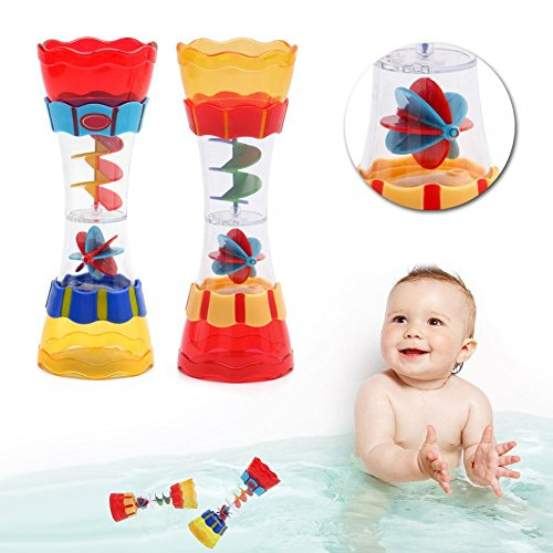 Toddler Kids Baby Boys Plastic Bath Swim Toy Water Whirly Wand Cup Toys Gift A