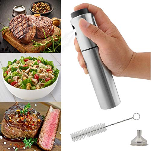 SunTrade Cooking Olive Oil Sprayer,Stainless Steel Oil Dispe