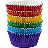 Wilton 415-5172 72 Count Rainbow Cupcake Liners