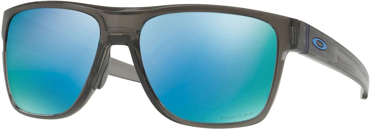 7263481a3e9 Oakley - Crossrange XL - Grey Smoke Frame - Prizm Deep H2O Polarized Lenses  at Amazon Men s Clothing store