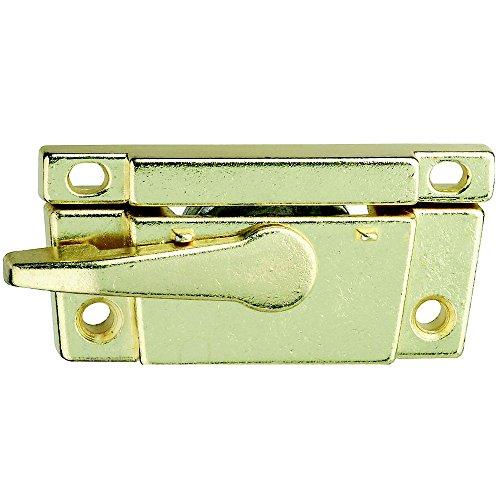 (Stanley 819171 Narrow Sash Lock, Zinc Die Cast, Bright Brass )