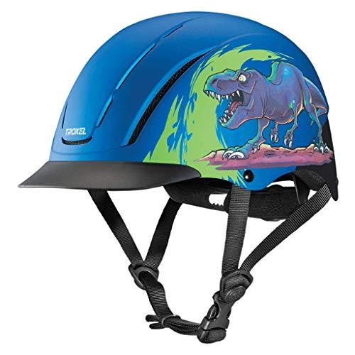 Troxel Spirit T-Rex Horse Riding Western Helmet Low Profile Adjustable (Medium)