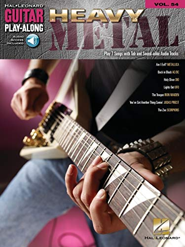 Heavy Metal Vol.54 BK/CD Guitar Play-Along (Hal Leonard Guitar Play-Along)