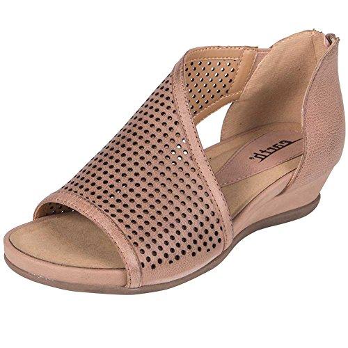 Earth Women's Venus Blush Tumbled Leather Sandal xSaTwx