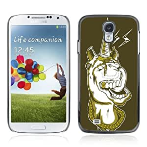 Designer Depo Hard Protection Case for Samsung Galaxy S4 / Gangsta Unicorn