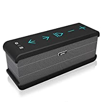 Meidong iChocolate Bluetooth Speakers, Portable Wireless Bluetooth Speaker 4.0 for Echo Dot with Big Subwoofer Enhanced Bass and Built-in Microphone for iPad/iPhone/Samsung and More
