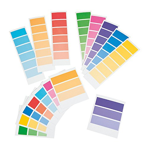 Paint Chip Supply Strips