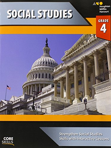 Steck-Vaughn Core Skills Social Studies: Workbook Grade 4