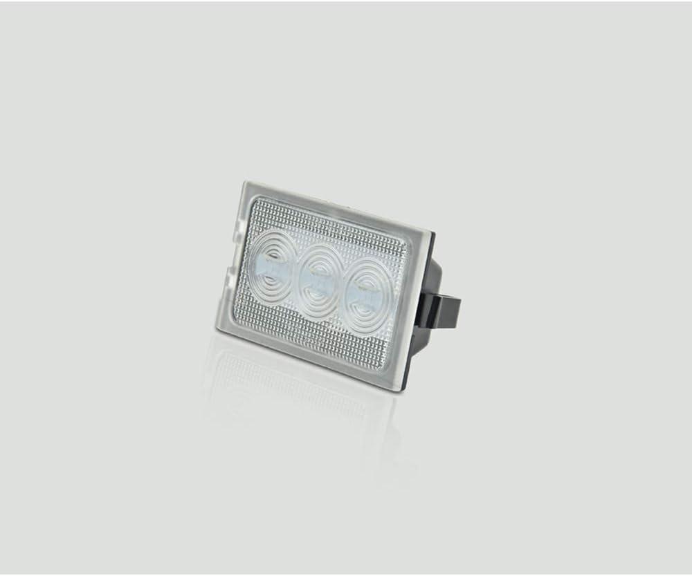 AutoStyle V-034301 Set Custom-fit LED License Plate Lights-Land Discovery 3+4//Freelander 2 /& Range Sport