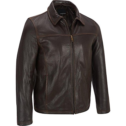 Wilsons Leather Mens Big & Tall Open Bottom Lamb Jacket W/Thinsulate Lining 3XL