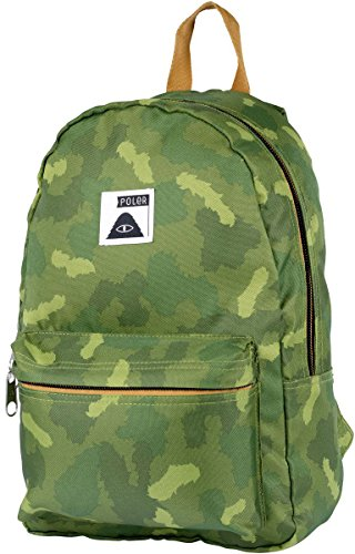 Poler Men's Rambler Pack Backpack, Furry Green Camo, One (Green Rambler Backpack)