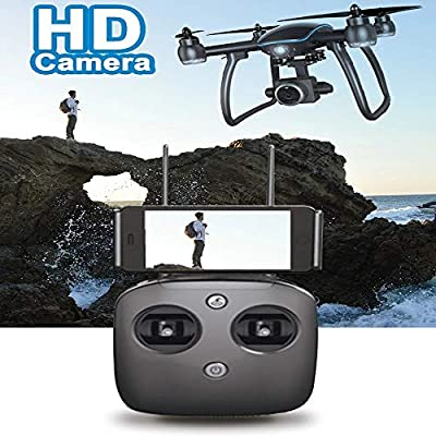 LXWM RC Drone HD Camera WiFi Follow me 5Gwifi Brushless Motor GPS HD Aerial Photography 1080P Drone Intelligent Following Surround Aircraft