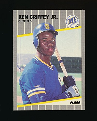 1989 Fleer Ken Griffey Jr. Rookie Card 548