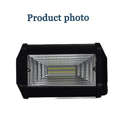 ZMM LED Barra de luz de Trabajo, Alta Potencia 72W Slim LED Barra de luz