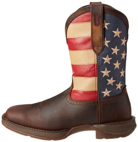 Marrone Union brown Stivaletti Durando Db5554 Western Stivali Flag Equitazione Work USqgtxn8w