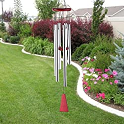 "Trubetter Outdoor Wind Chimes 19"" Amazing Grace Wind Chimes Outdoor Indoor Patio Garden Balcony Beautiful Outdoor Home Decor"