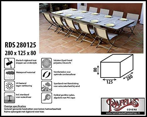 rds280125 Protection Météo pour salon de jardin 1 table avec 6–8 ...