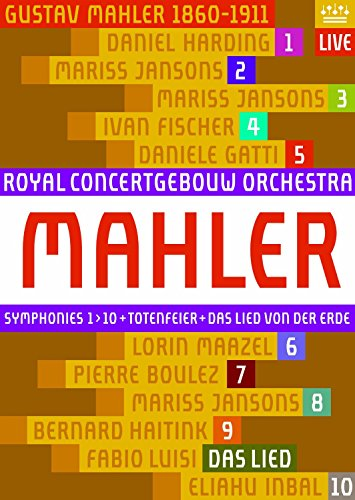 Mahler: Symphonies Nos.1-10 [Blu-ray] by RCO