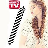 KroO Fashion Hair Styling DIY Fishtail Braid Braiding Tool for Women - AS SEEN ON TV