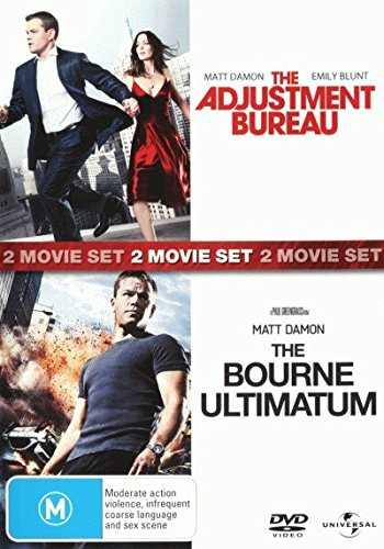The Adjustment Bureau / The Bourne Ultimatum DVD