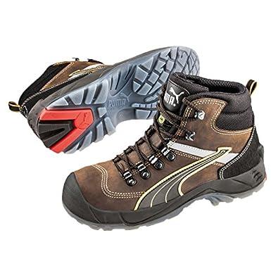 702a1da3ff1 Puma Mid Safety ruNNex Rebound 3.0 Condor 63.012.1 ESD Safety Boots S3 SRC  Brown