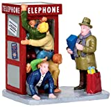 Lemax Christmas Village Collection Accessory, ''Occupied'' Telephone Booth
